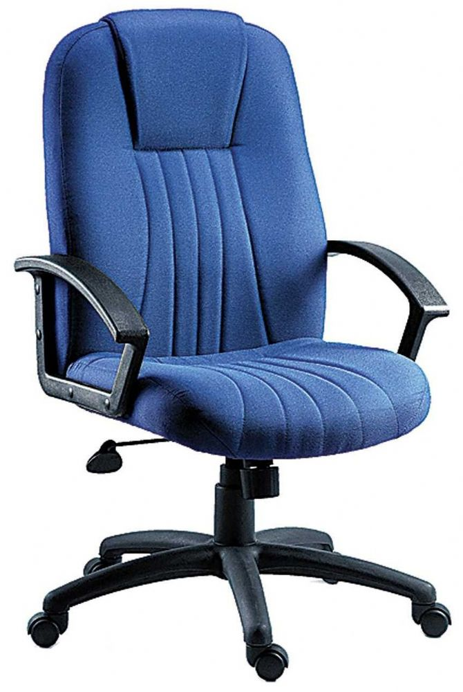 TEKNIK CITY FABRIC Executive City Office Chair, Choice of Colours Available